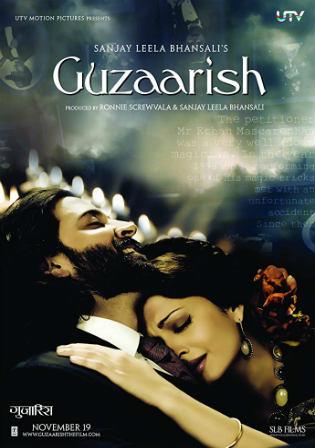 Guzaarish 2010 DVDRip 800Mb Full Hindi Movie Download 720p Watch Online Free bolly4u