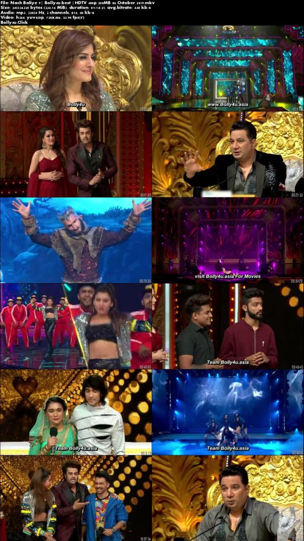 Nach Baliye 9 HDTV 480p 200MB 06 October 2019 Download