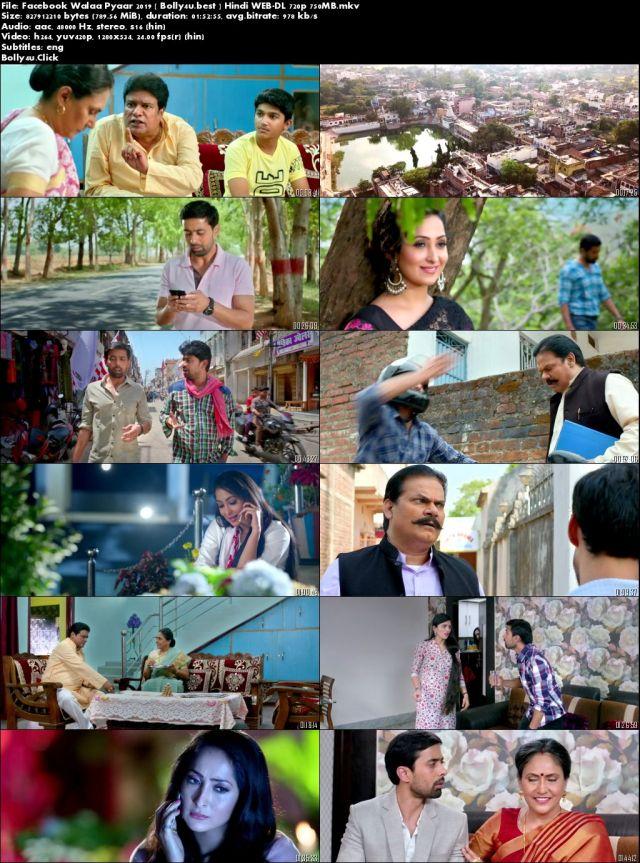 Facebook Wala Pyar 2019 WEB-DL 300MB Hindi 480p Download