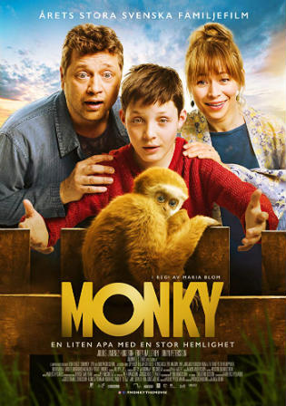 Monky 2017 BluRay 300MB Hindi Dual Audio 480p Watch Online Full Movie Download bolly4u