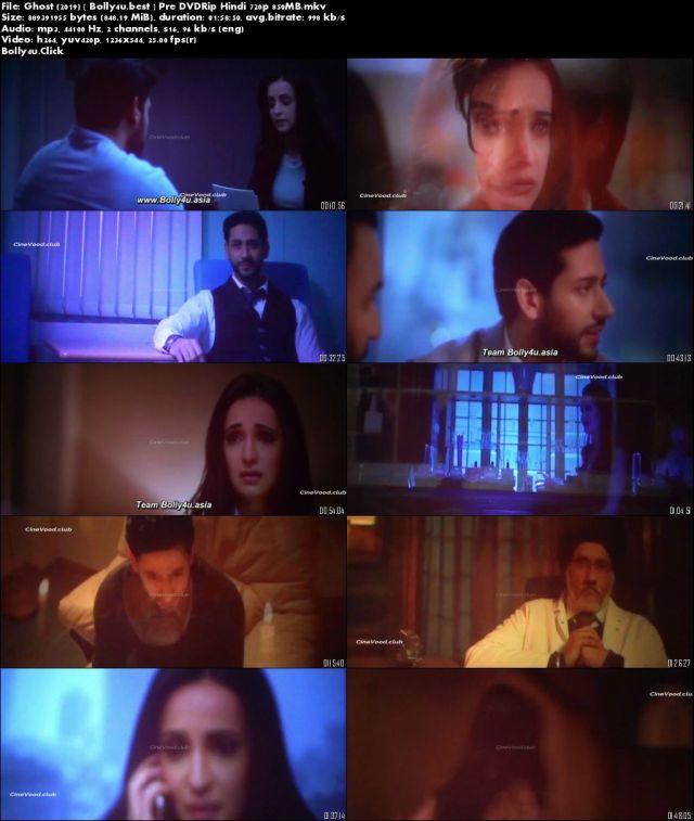 Ghost 2019 Pre DVDRip 300Mb Full Hindi Movie Download 480p