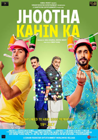 Jhootha Kahin Ka 2019 WEB-DL 300Mb Full Hindi Movie Download 480p Watch Online Free bolly4u