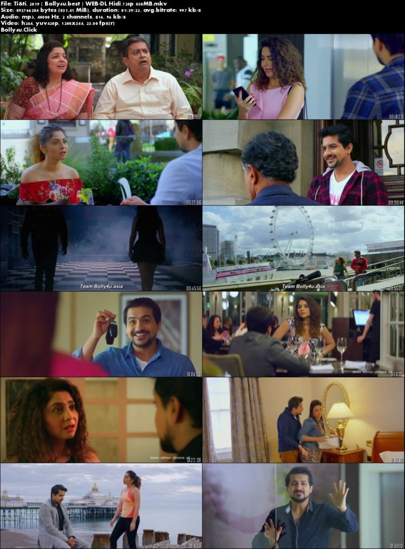 Ti and Ti 2019 WEB-DL 850Mb Full Hindi Movie Download 720p