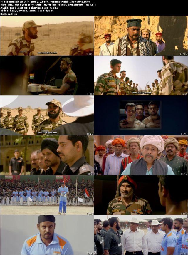 Battalion 609 2019 WEBRip 400Mb Full Hindi Movie Download 480p