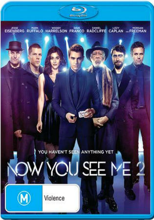 Now You See Me 2 2016 BluRay 400MB Hindi Dual Audio 480p ESub Watch Online Full Movie Download bolly4u
