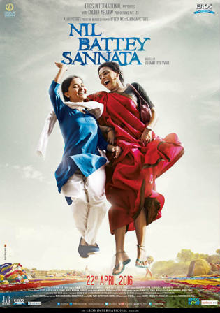 Nil Battey Sannata 2015 WEB-DL 700MB Full Hindi Movie Download 720p Watch Online Free bolly4u