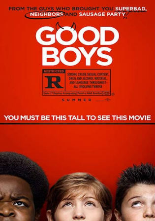 Good Boys 2019 WEB-DL 300MB English 480p ESub Watch Online Full Movie Download bolly4u