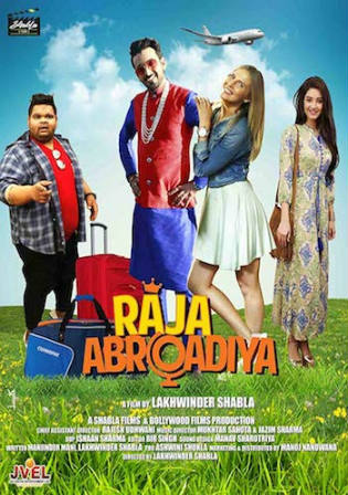 Raja Abroadiya 2019 HDTV 300MB Hindi 480p Watch Online Full Movie Download bolly4u