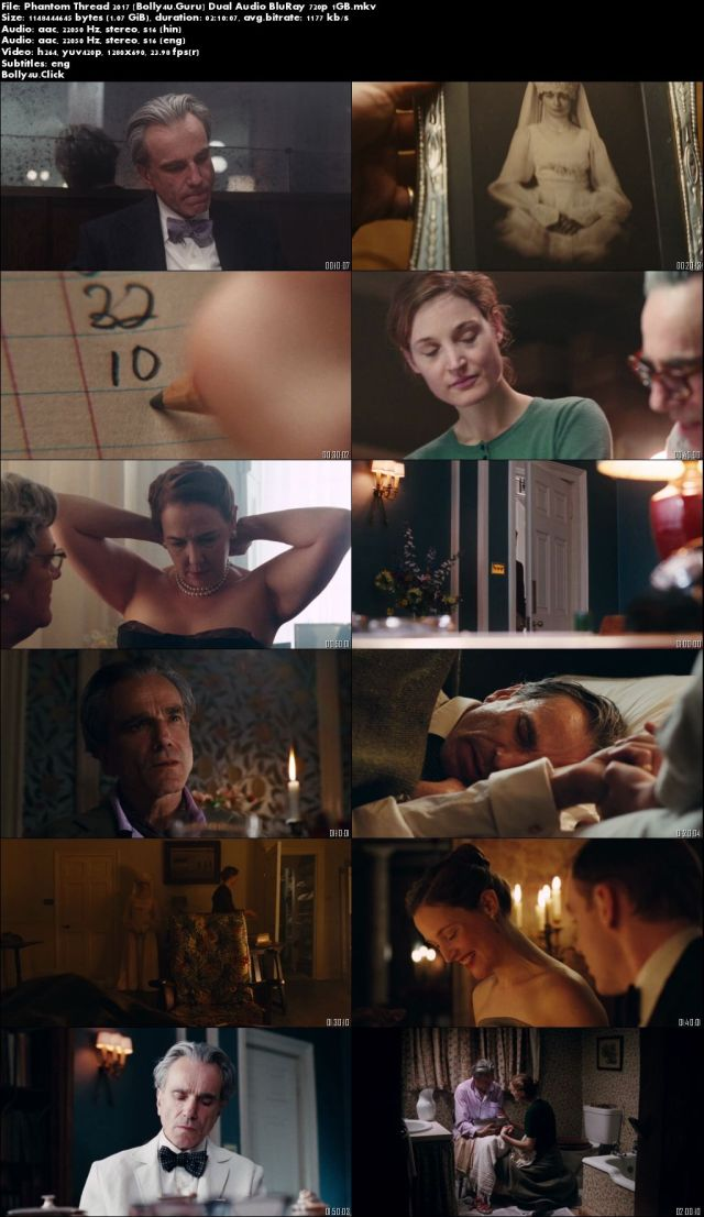 Phantom Thread 2017 BluRay 400MB Hindi Dual Audio 480p Download