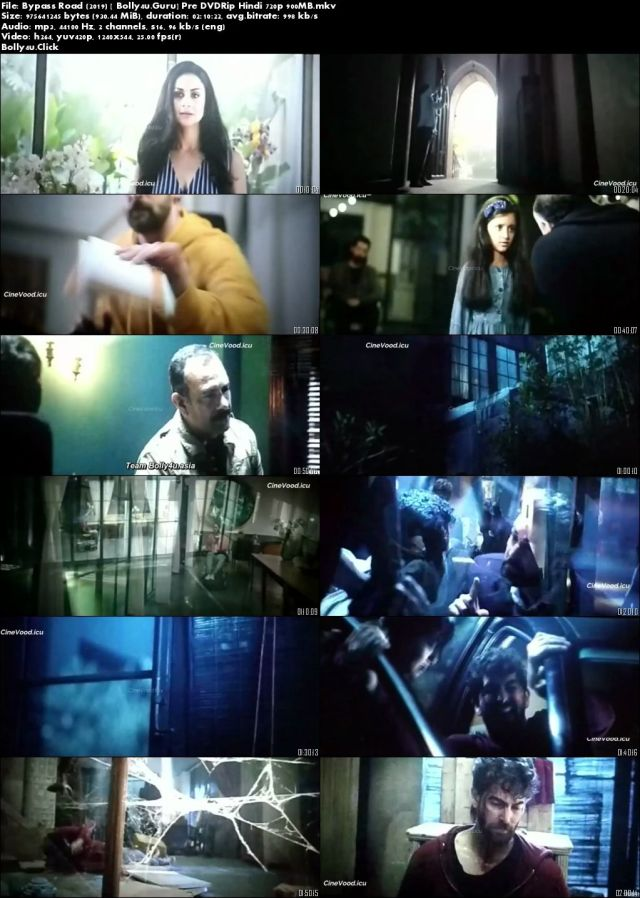 Bypass Road 2019 Pre DVDRip 300Mb Full Hindi Movie Download 480p