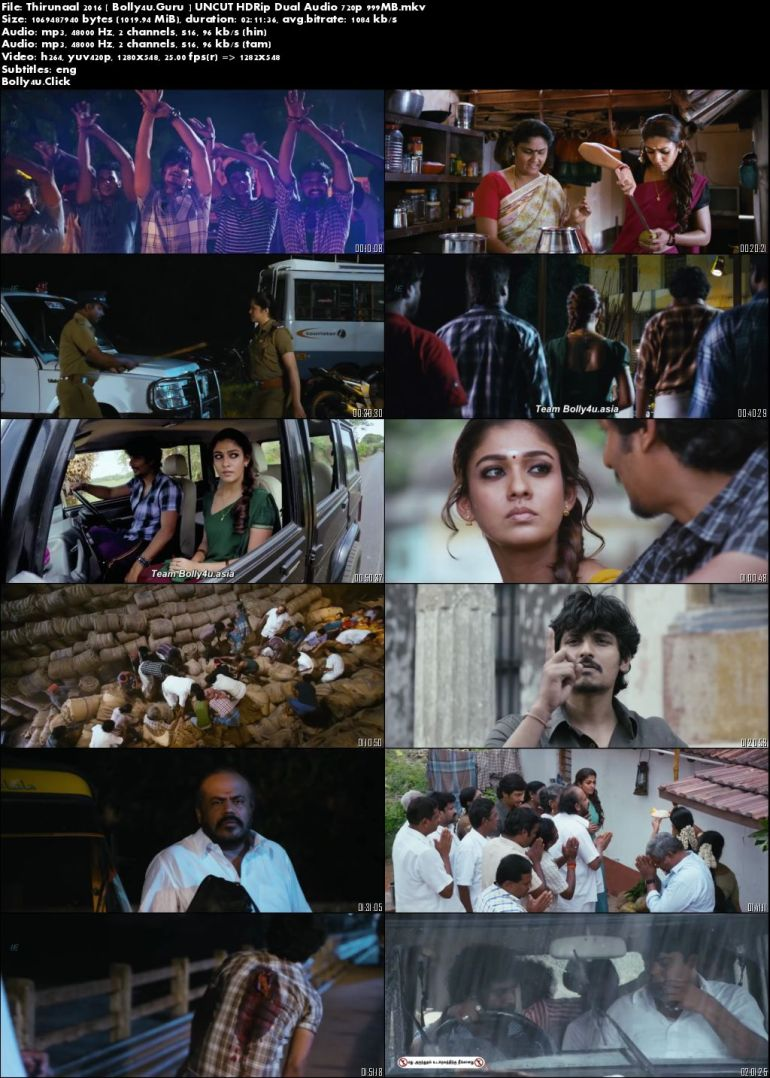 Thirunaal 2016 HDRip 400MB UNCUT Hindi Dual Audio 480p Download