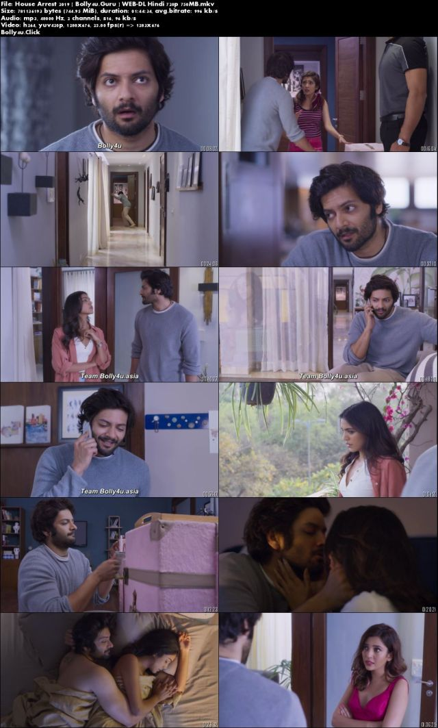 House Arrest 2019 WEB-DL 300Mb Full Hindi Movie Download 480p
