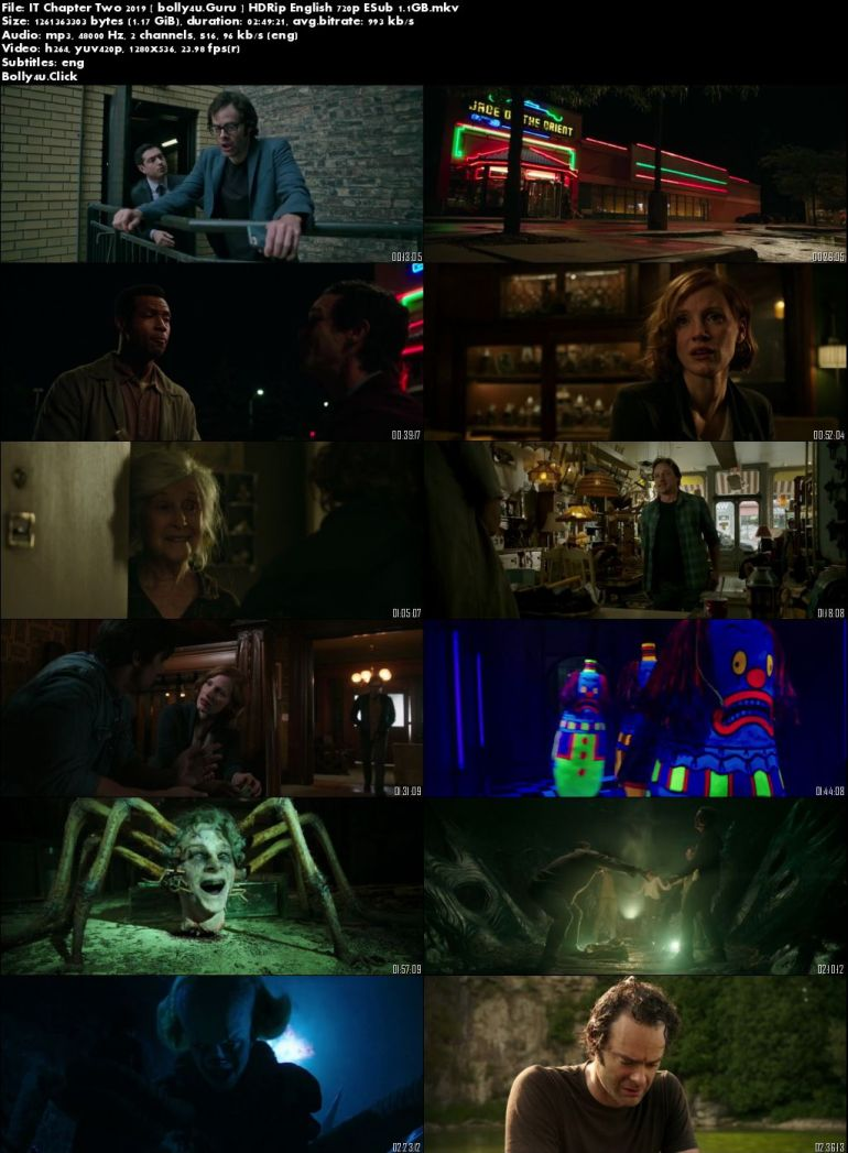 IT Chapter Two 2019 WEBRip 500MB English 480p ESub Download