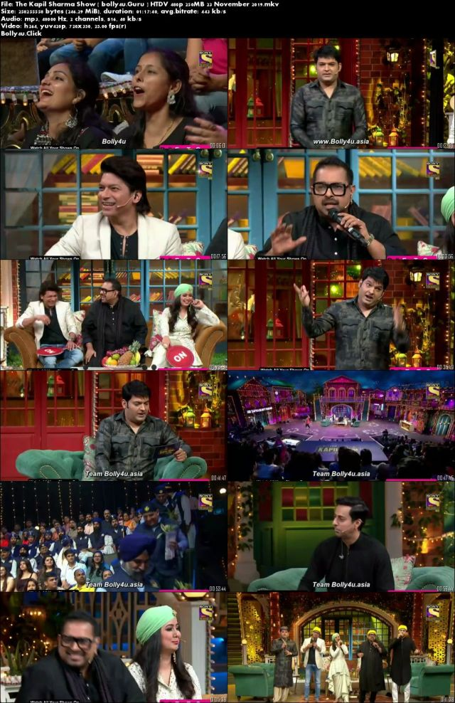 The Kapil Sharma Show HTDV 480p 250MB 23 November 2019 Download