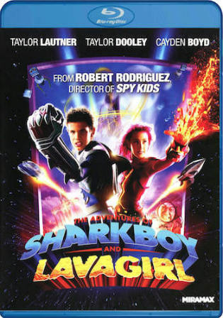 The Adventures of Sharkboy and Lavagirl 2005 BRRip 800Mb Hindi Dual Audio 720p Watch Online Full Movie Download bolly4u