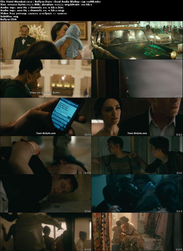 Hotel Mumbai 2018 BluRay 950MB Hindi Dual Audio 720p Download
