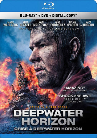 Deepwater Horizon 2016 BluRay 950Mb Hindi Dual Audio 720p Watch Online Full Movie Download bolly4u