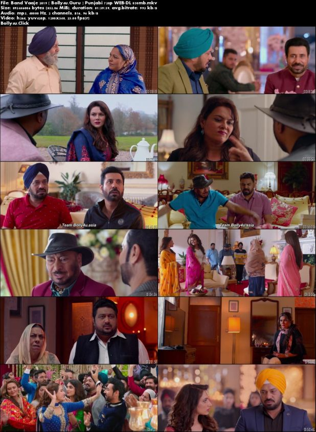 Band Vaaje 2019 WEB-DL 300Mb Punjabi 480p Download