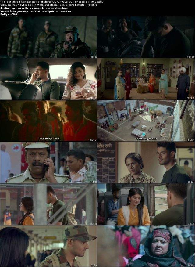 Satellite Shankar 2019 WEB-DL 999MB Hindi 720p Download