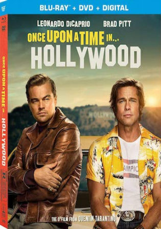 Once Upon A Time In Hollywood 2019 BRRip 1.2GB Hindi Dual Audio ORG 720p Watch Online Full Movie Download bolly4u