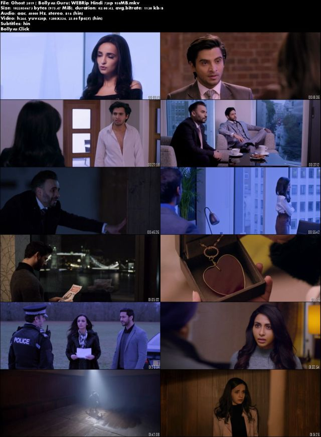 Ghost 2019 WEBRip 300Mb Full Hindi Movie Download 480p