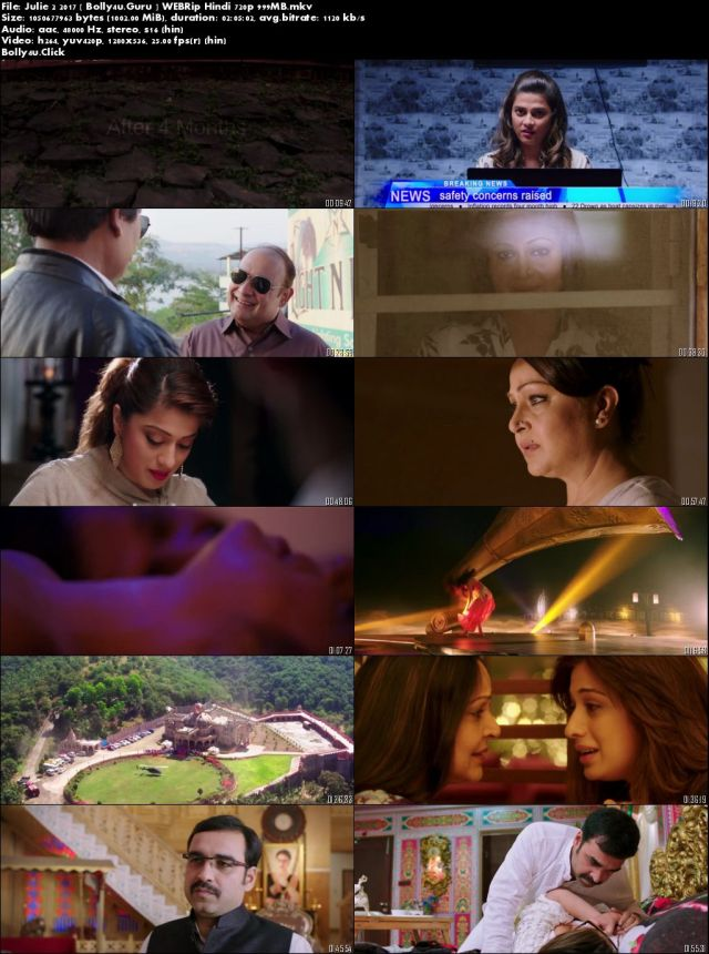 Julie 2 2017 WEBRip 999Mb Full Hindi Movie Download 720p