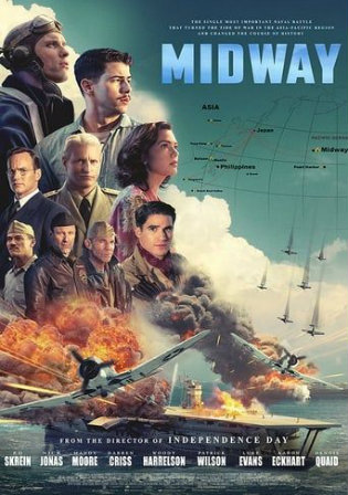 Midway 2019 BRRip 300MB English 480p ESub Watch Online Full Movie Download bolly4u