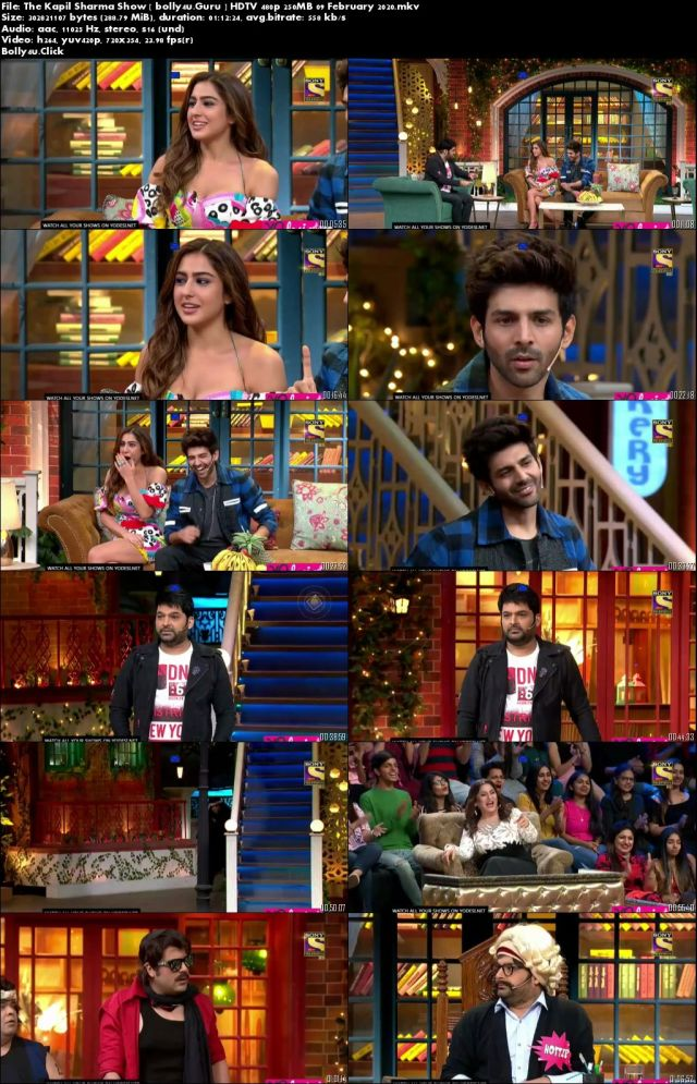 The Kapil Sharma Show HDTV 250MB 480p 09 February 2020 Download