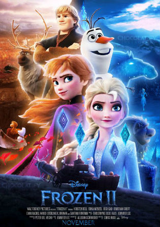 Frozen II 2019 HDRip 850MB Hindi Dual Audio 720p Watch Online Full Movie Download bolly4u