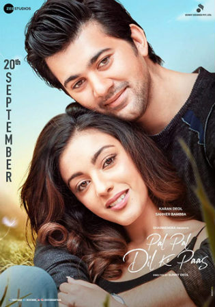 Pal Pal Dil Ke Paas 2019 HDRip 300MB Full Hindi Movie Download 480p Watch Online Free bolly4u