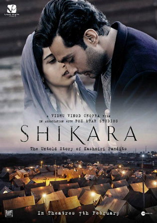 Shikara 2020 Pre DVDRip 300Mb Full Hindi Movie Download 480p Watch Online Free bolly4u