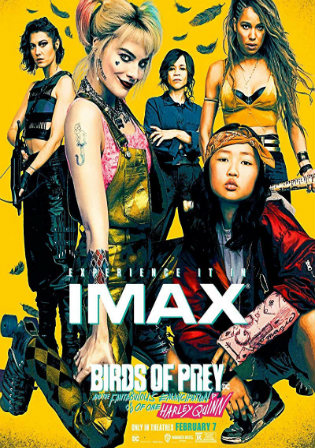 Birds of Prey 2020 HDCAM 950Mb Hindi Dual Audio 720p Watch online Full Movie Download bolly4u