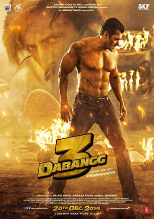 Dabangg 3 2019 WEBRip 400MB Full Hindi Movie Download 480p Watch Online Free bolly4u