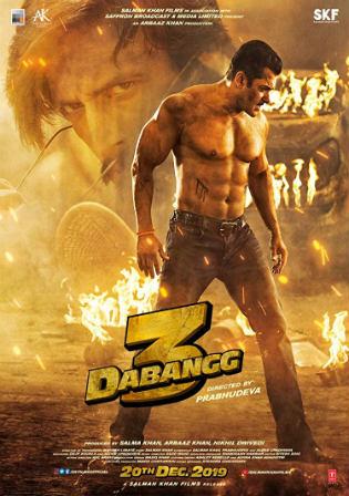 Dabangg 3 Movie Download (2019) 480p, 720p, BluRay