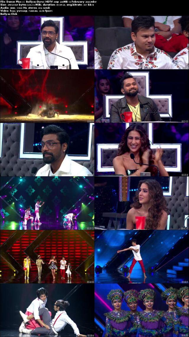 Dance Plus 5 HDTV 480p 250MB 15 February 2020 Download