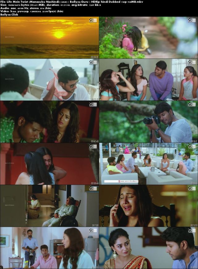Life Mein Twist 2020 HDRip 950MB Hindi Dubbed 720p Download