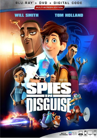 Spies in Disguise 2019 BRRip 300MB English 480p ESub Watch Online Full Movie Download bolly4u