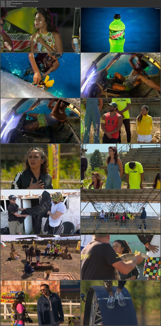 Khatron Ke Khiladi HDTV 480p 250MB 22 March 2020 Download