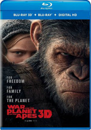 War For The Planet Of The Apes 2017 BluRay 950MB Hindi Dual Audio ORG 720p Watch Online Full Movie Download bolly4u