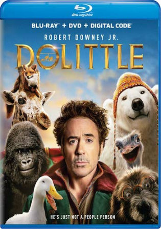 Dolittle 2020 BRRip 1GB Hindi Dual Audio ORG 720p ESub Watch Online Full Movie Download bolly4u