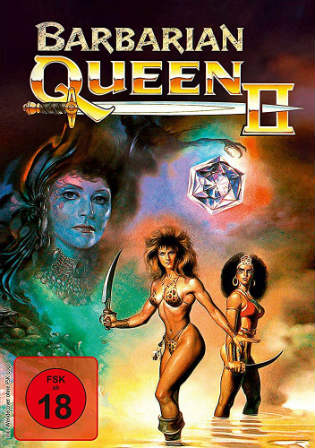 Barbarian Queen II The Empress Strikes Back 1990 BRRip 800MB UNRATED Hindi Dual Audio x264 Watch Online Full Movie Download bolly4u