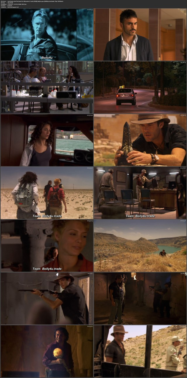 Jack Hunter And The Quest For Akhenatens Tomb 2008 WEBRip 750Mb Hindi Dual Audio 720p Download