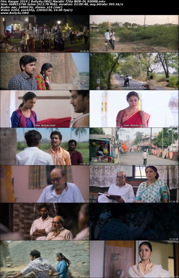 Kaagar 2019 WEB-DL 400MB Marathi 480p Download