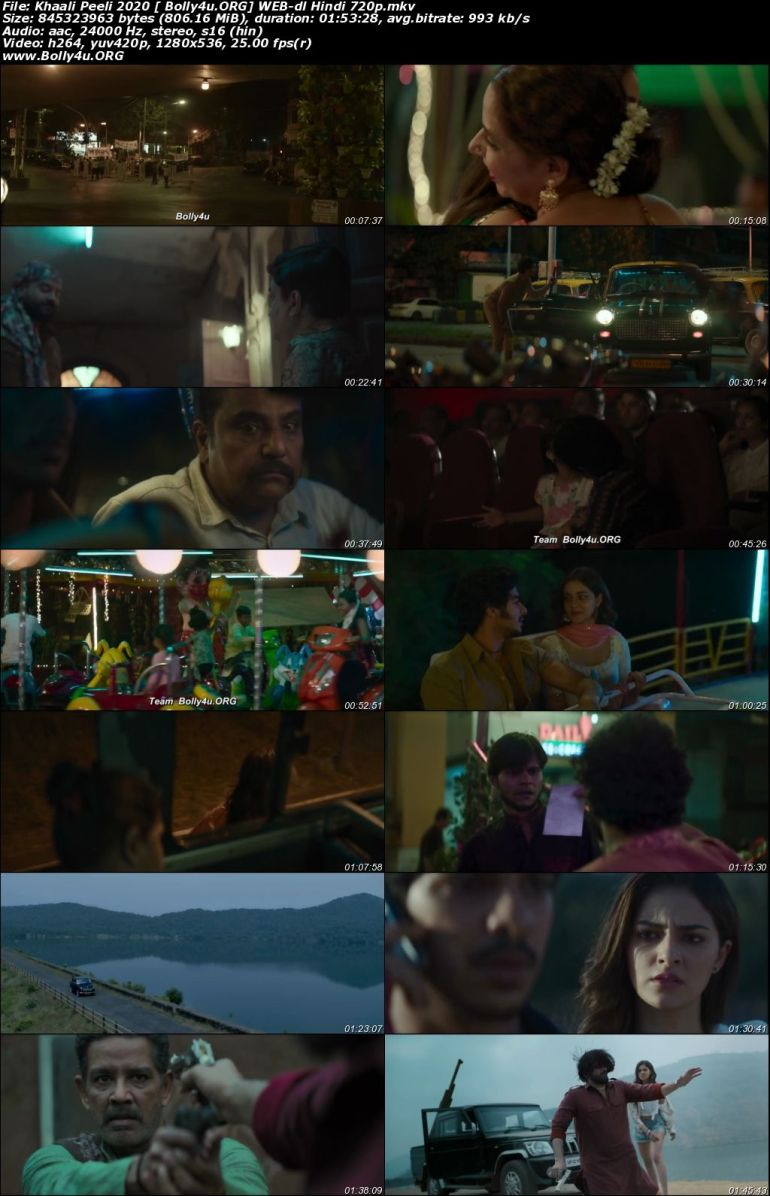 Khaali Peeli 2020 WEB-DL 300Mb Hindi Movie Download 480p