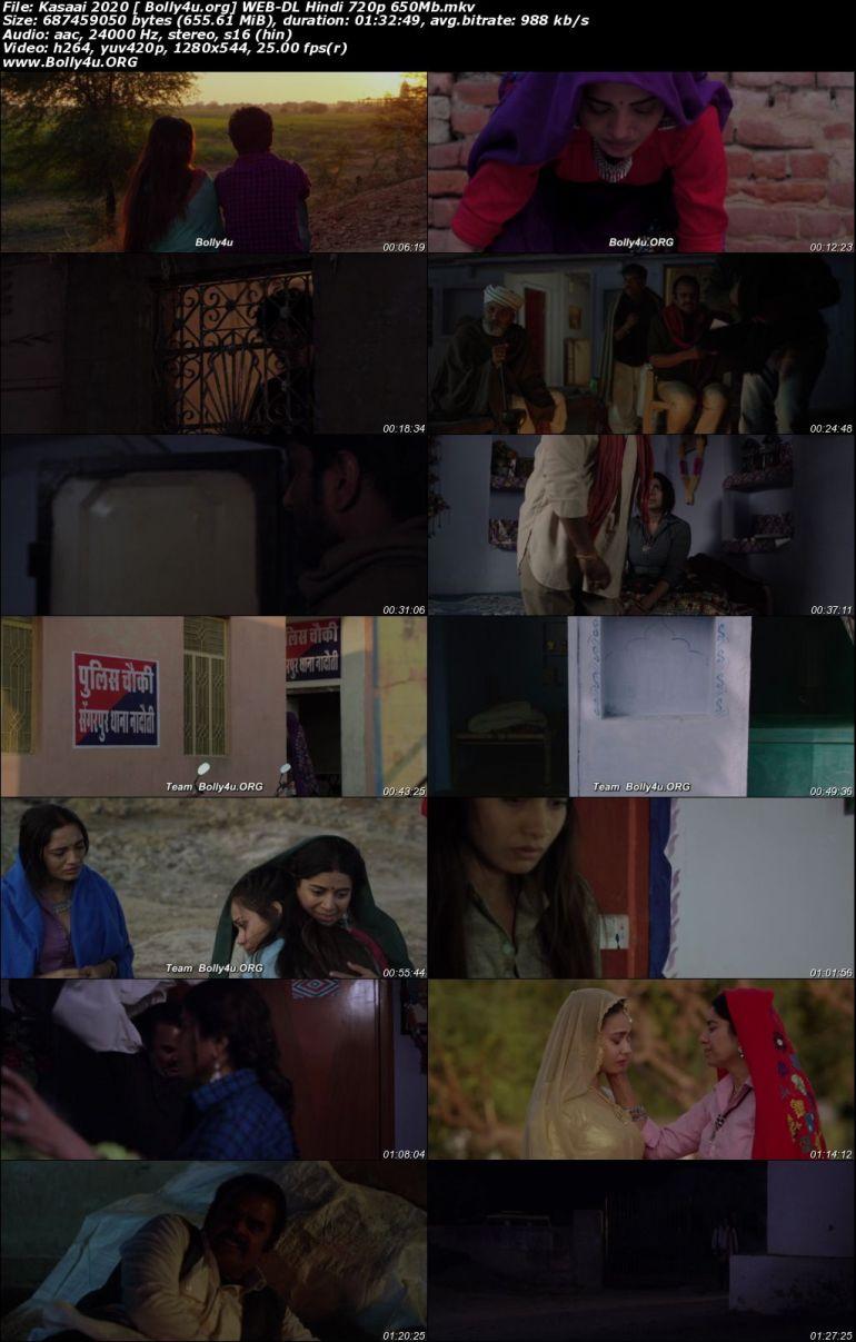 Kasaai 2020 WEB-DL 300MB Hindi Movie Download 480p