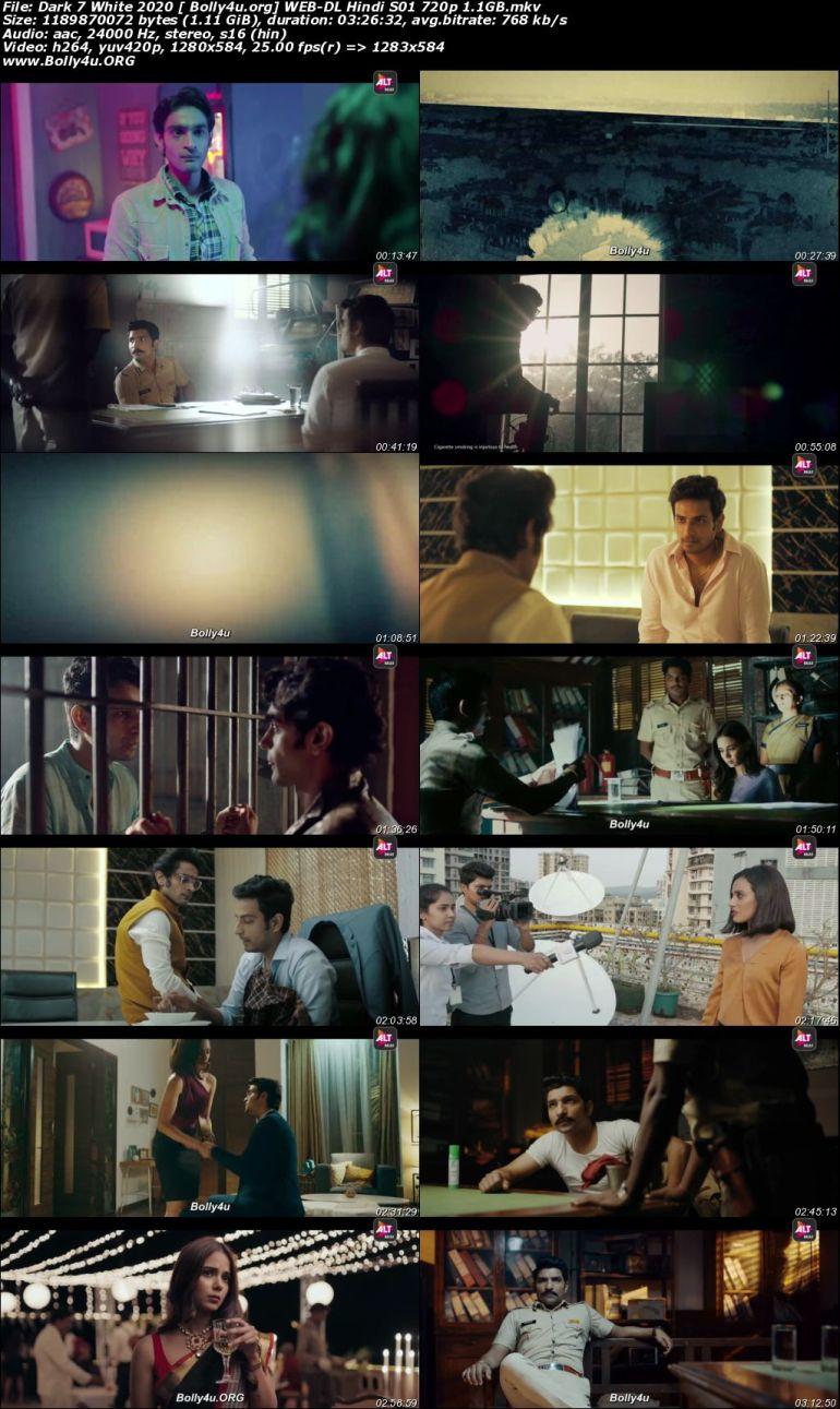 Dark 7 White 2020 WEB-DL 1.1GB Hindi Complete S01 Download 720p