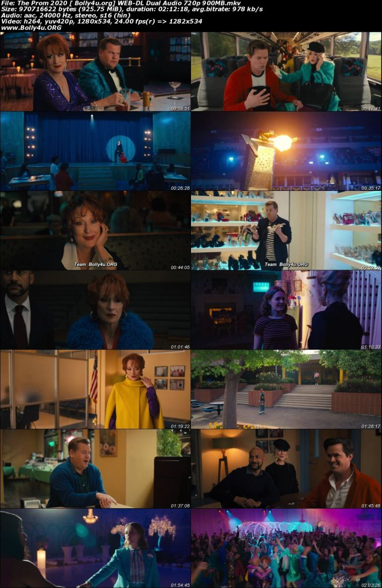 The Prom 2020 WEB-DL 900Mb Hindi Dual Audio 720p Download