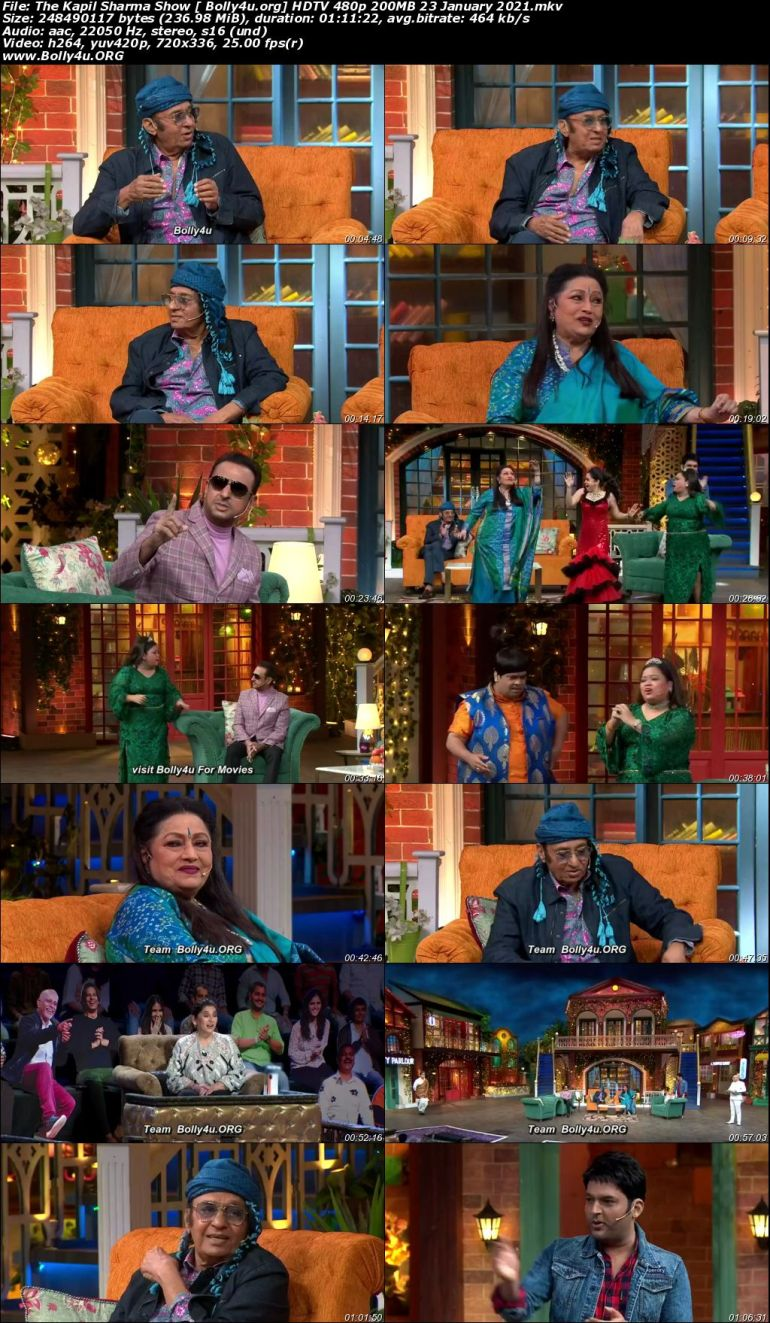 The Kapil Sharma Show HDTV 480p 200MB 23 January 2021 Download