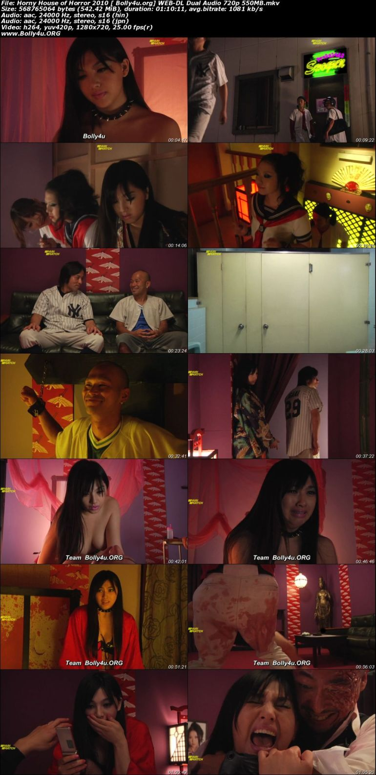 18+ Horny House of Horror 2010 WEB-DL 550Mb Hindi Dual Audio 720p Download