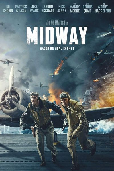 Midway (2019) BluRay Dual Audio [Hindi (ORG 2.0) & English] 1080p 720p 480p [x264/HEVC] HD | Full Movie